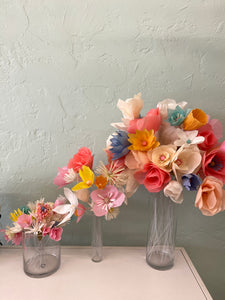 paper flowers assorted