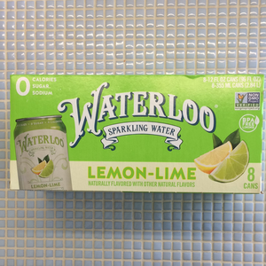 waterloo lemon lime 8 pack