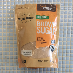 woodstock organic brown sugar 16 oz