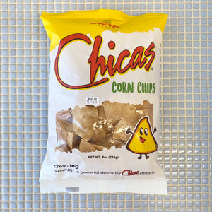 chicas corn chips 8oz
