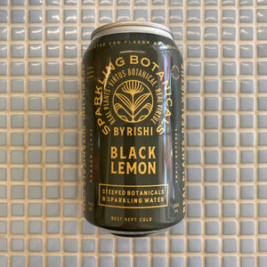 rishi sparkling botanicals black lemon