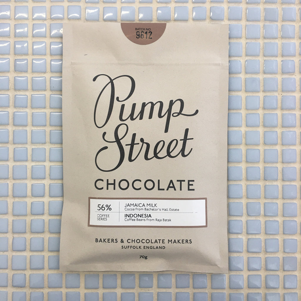 pump street chocolate jamaica milk & indonesia coffee 56%