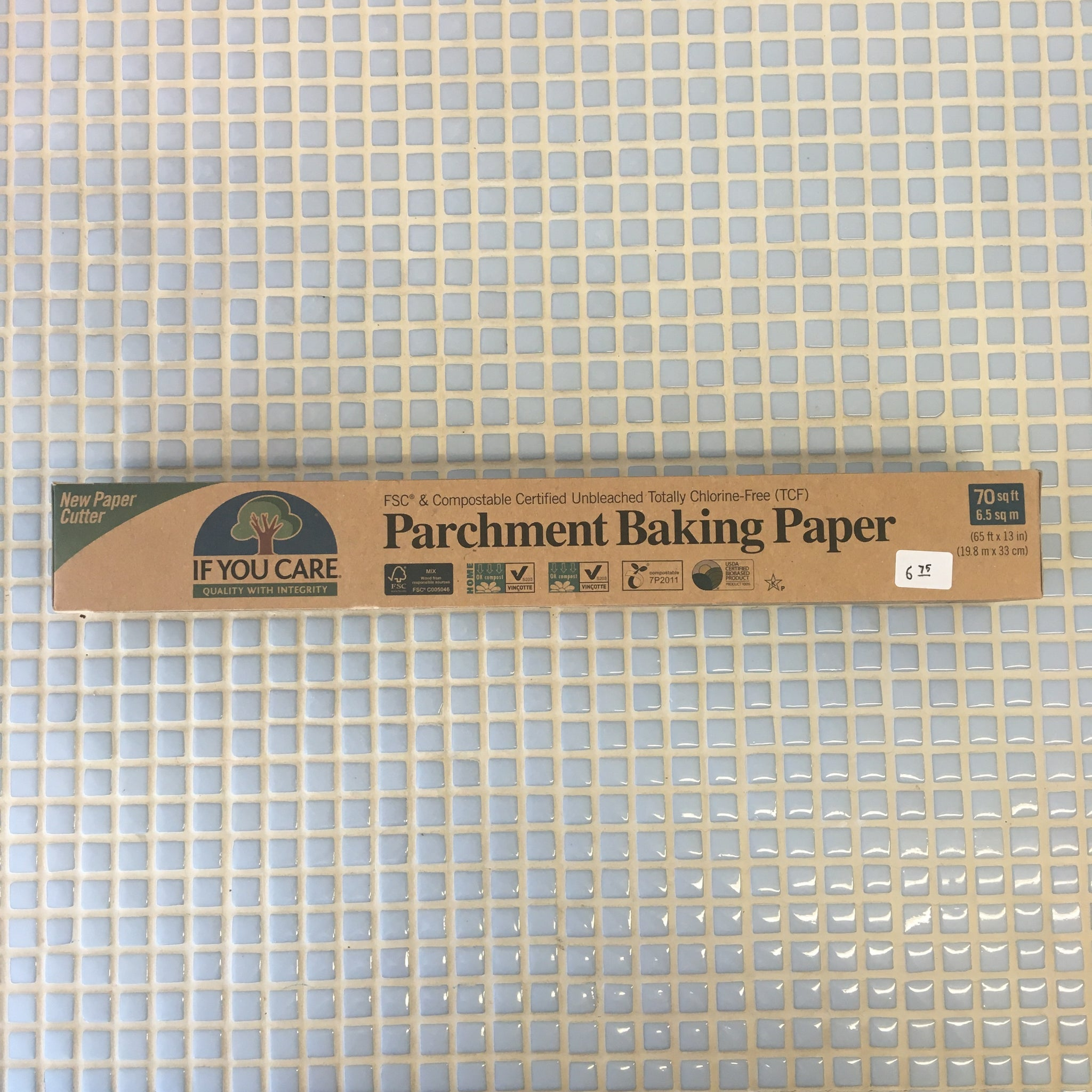 if u care baking parchment paper