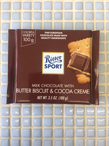 ritter butter biscuit bar