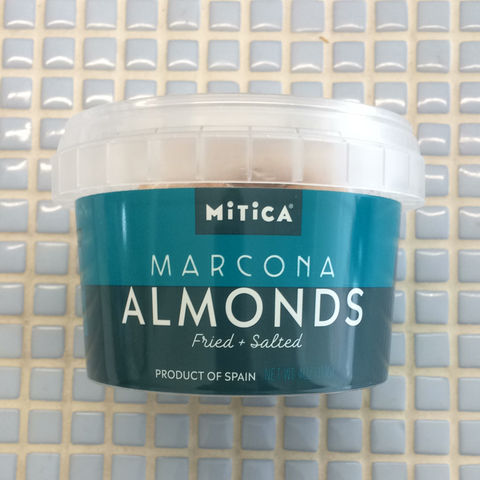 mitica fried and salted marcona almonds
