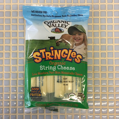 organic valley stringles string cheese