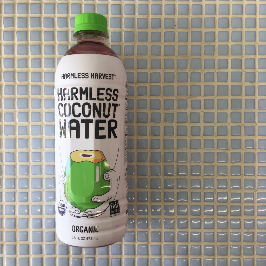 harmless harvest - raw organic coconut water, 16oz