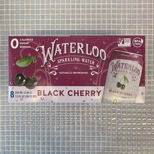 waterloo black cherry 8 pack