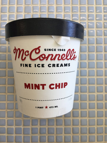 mcconnells mint chip ice cream
