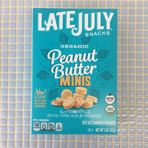 late july snacks mini rich & pb