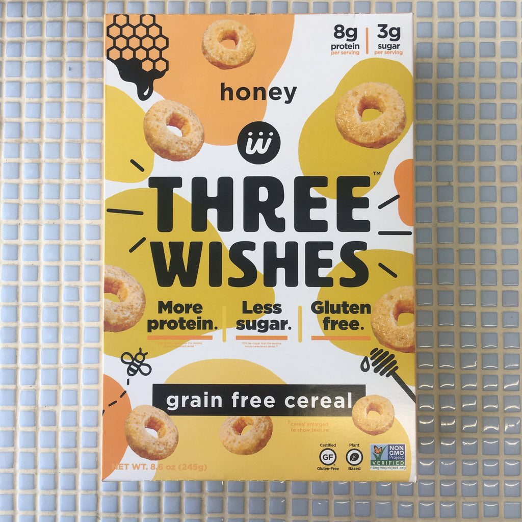 three wishes cereal honey o grain free