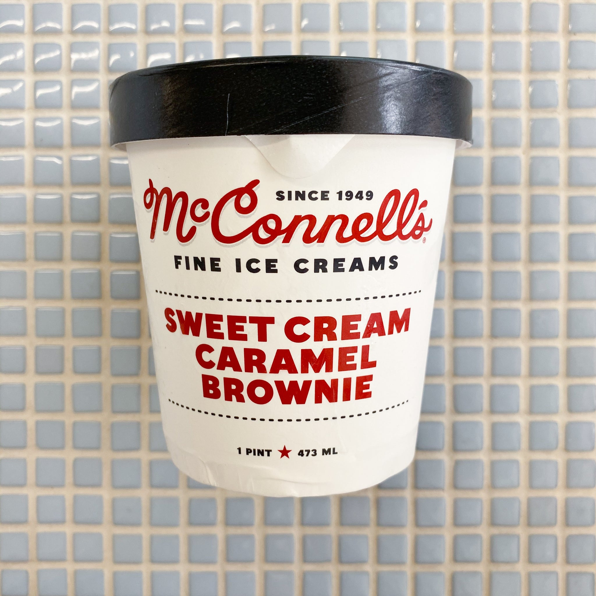mcconnells sweet cream and caramel brownie ice cream
