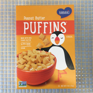 barbaras puffins peanut butter cereal