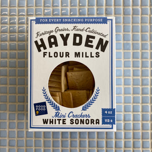 hayden flour mills white sonora mini crackers