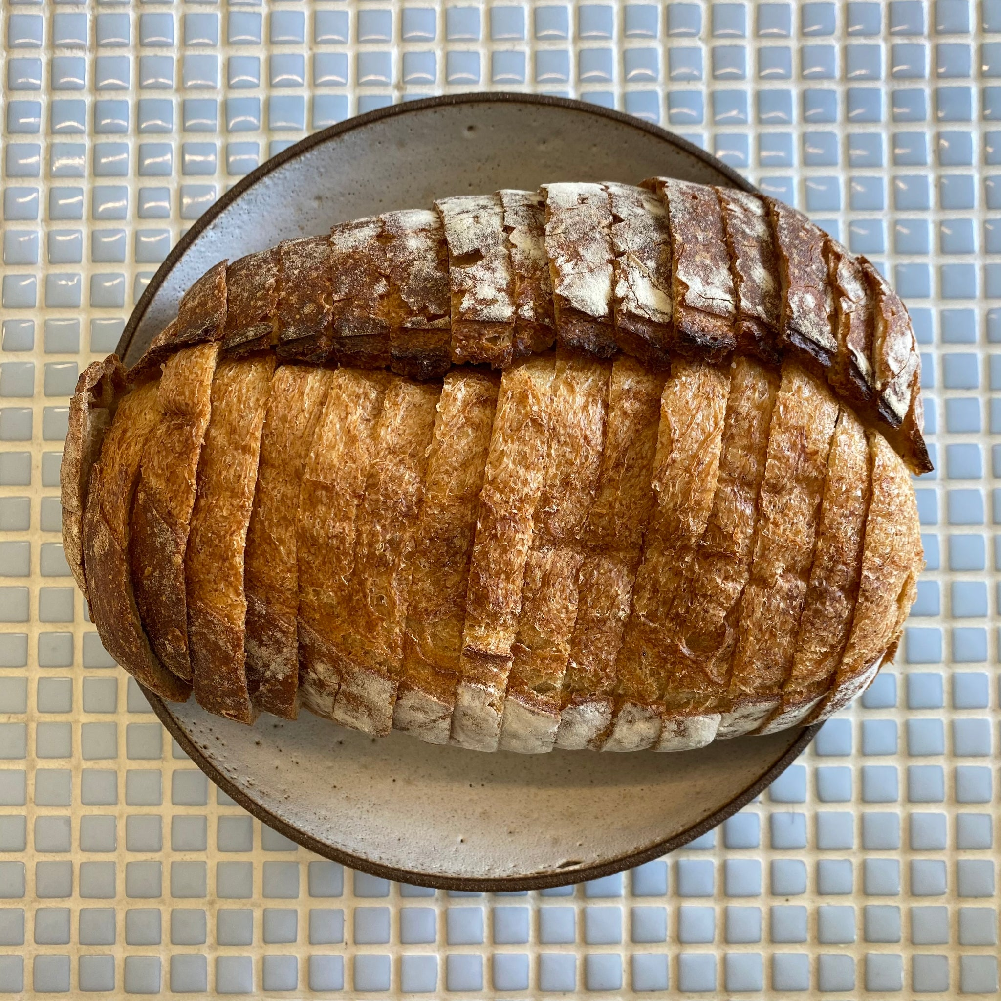 bread lounge 1.2 lbs country white sliced loaf saturday pickup only