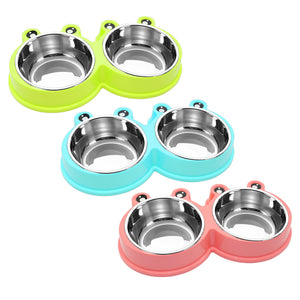 the-paw-empire - Non-Slip Stainless Steel Pet Food or Water Bowls - Bowls