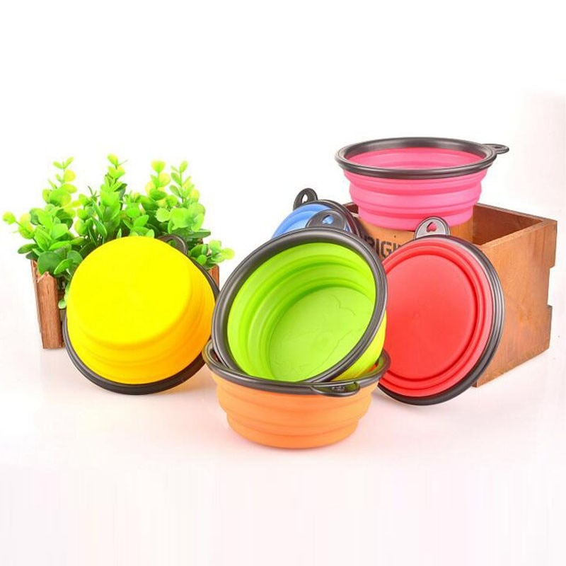 the-paw-empire - Portable Folding Dog Bowl - Travel Bowls