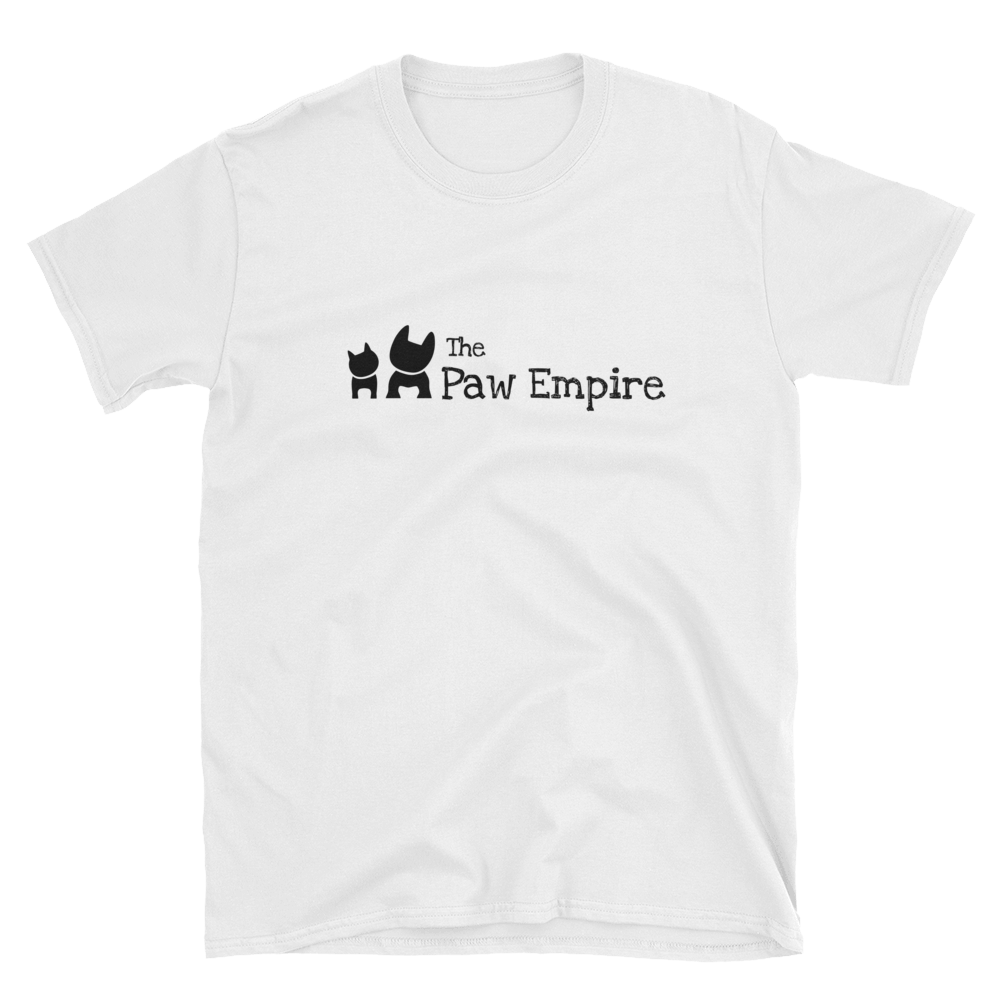 The Paw Empire  Unisex White T-Shirt - The Paw Empire