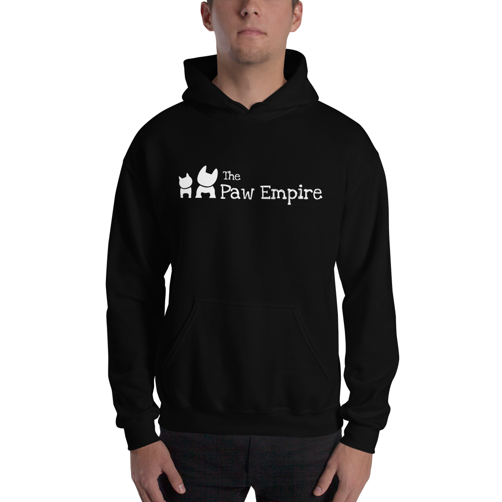 The Paw Empire Black Hooded Sweatshirt - The Paw Empire