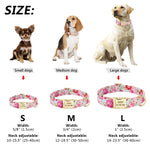 Cat & Dog Collar-Personalised Collar with Custom ID nameplate - The Paw Empire