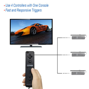 Built-in Motion Plus Wireless Remote control- Gamepad For Nintend Wii - The Paw Empire