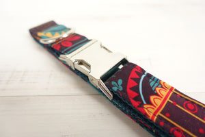 Personalised Dog Collars & Cat Collars- The Maya- Designer Dog & Cat Collars, Bowties & Lead Sets - The Paw Empire