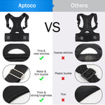 Back Brace- Magnetic Posture Support & Corrector for shoulders,back & lower lumber - The Paw Empire