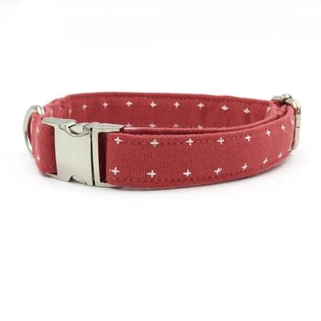 Dog Collar & Cat Collars Watermelon Red Designer Pet Collars, Bowties & Lead sets