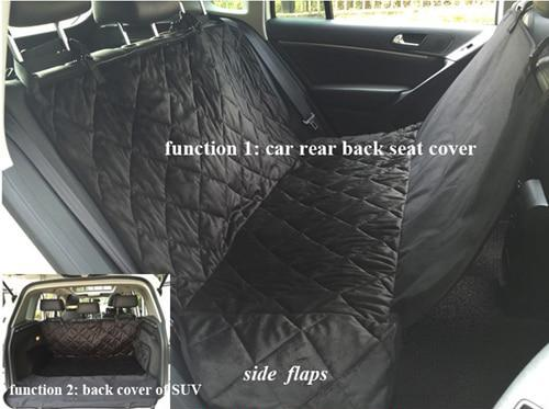 the-paw-empire - Waterproof Back Seat or Boot Hammock Cover - Dog Car Mat - Dog Mat