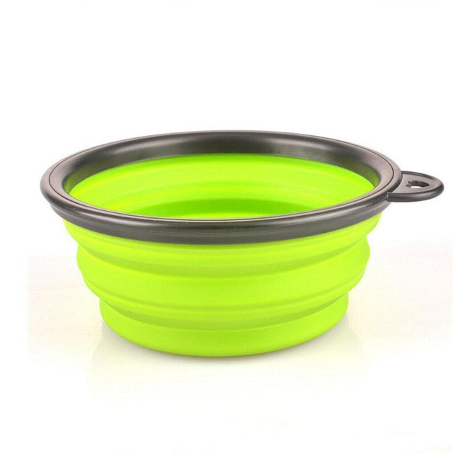 Portable Folding Dog Bowl - Travel Water & Food Bowl for Dogs - The Paw Empire