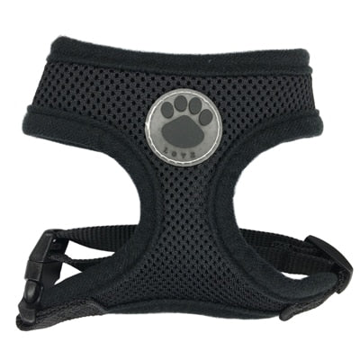 Adjustable Pet Harness - Air Mesh Harness for Cats and Dogs XS, S, M, L, XL - The Paw Empire