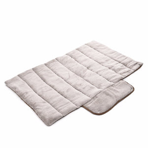 Double-Sided Dog & Cat Travel Mat - All Season Roll-up Pet Bed - The Paw Empire