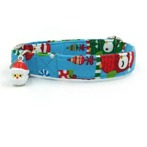 The Christmas Owl Dog Collar- Designer Collars for Dogs & Cats - The Paw Empire