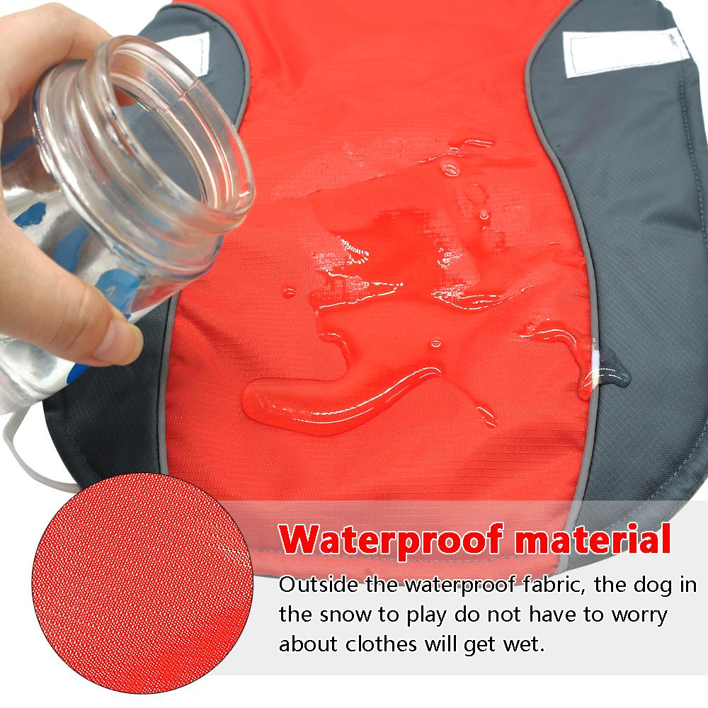 Waterproof Dog Winter Coat - Warm Vest Jacket For Small Medium Large Dogs