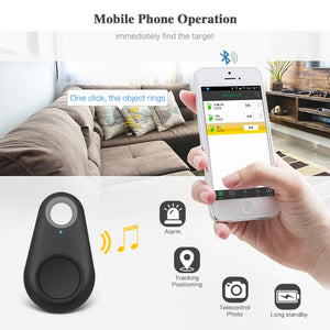 Smart Bluetooth GPS Locator Tag  - Alarm Key Chain for Pets, Bags, Keys, Wallets and More Never - The Paw Empire