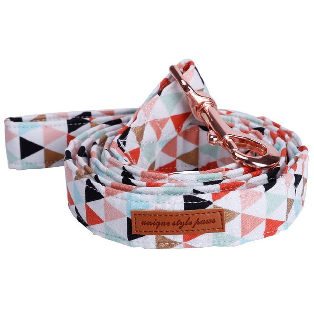 Funky Triangles - Designer Collars & Leads for Dogs & Cats - The Paw Empire