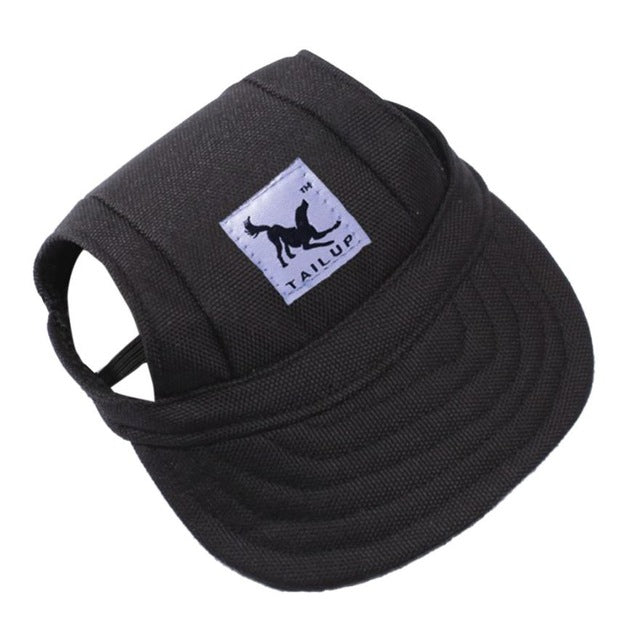 Canvas Dog Hat - Sun safe Pet Cap - The Paw Empire