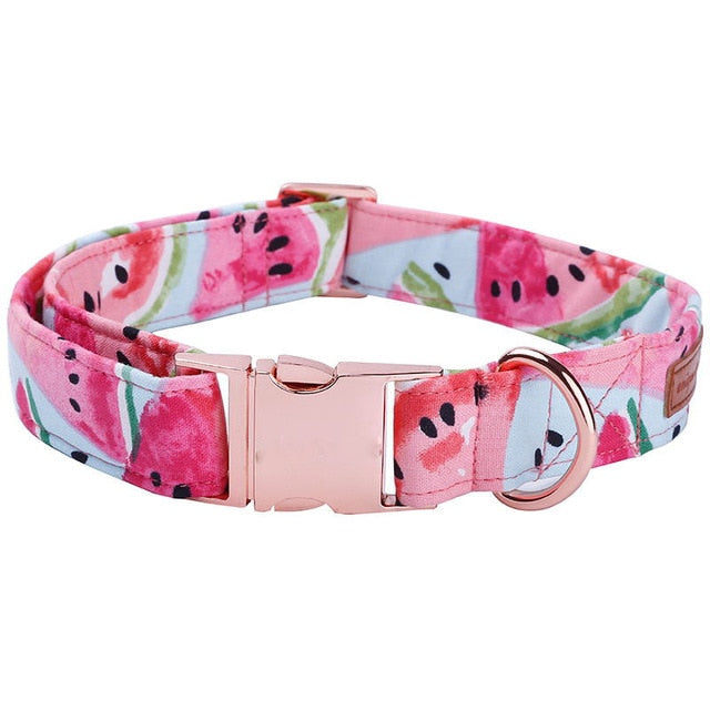 The Watermelon Dog Collar - Designer Collars & Leads for Dogs & Cats - The Paw Empire