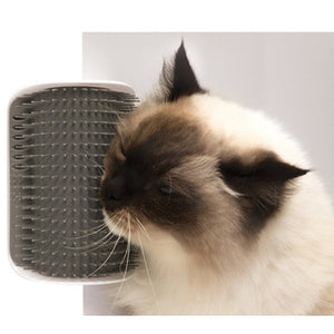 The Corner Comb Cat Scratcher - Self Grooming Cat Brush - The Paw Empire