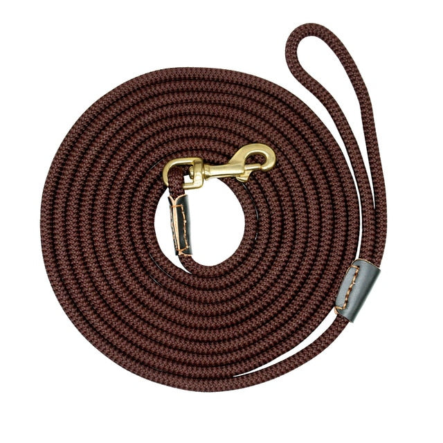Durable Dog Tracking Leash - Nylon Long Leads for Pet Training 3m 5m 10m 20m - The Paw Empire