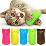 Catnip Plush Toy - Cat Scratch and Chew Plush Toy - The Paw Empire