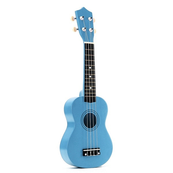 21-inch-Ukulele-Soprano-4-Strings-Hawaiian-Basswood-Guitar-Uke-String-Instr thumbnail 16