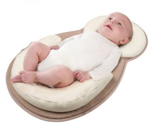 Antirollover cotton & memory foam Pillow for newborn baby or Infant - The Paw Empire