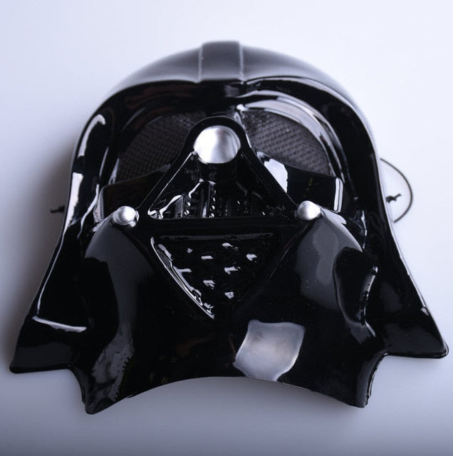 Black & White Star Wars Darth Vader Storm trooper Full Face Masks- Deluxe Halloween Superhero & Theme Party Cosplay - The Paw Empire