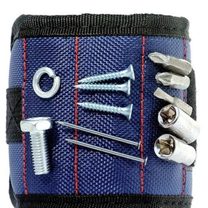 Magnetic wristband tool bag -easily hold Screws, Nails, Drill bits whilst working
