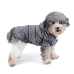 Dog Jacket with Hood- Soft winter vest style coat for Cat, Puppy & small Pets - The Paw Empire