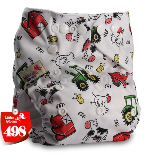 thumbnail 27 - Baby Reusable Cloth Nappy- Various patterned washable Diaper covers