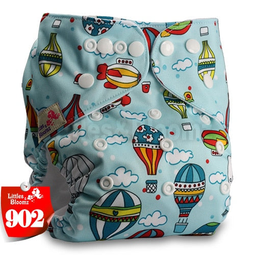 thumbnail 31 - Baby Reusable Cloth Nappy- Various patterned washable Diaper covers