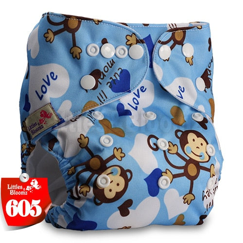thumbnail 32 - Baby Reusable Cloth Nappy- Various patterned washable Diaper covers