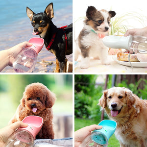 Portable Dog Water Bottle -Small Large Dogs outdoor & Travel Drinking Bowl - The Paw Empire